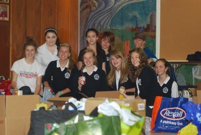 Marymount Academy Annual Canned Food Drive