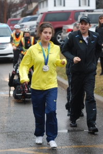 Marymount Student Honoured to Participate in Rick Hansen Foundation Relay