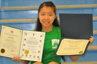 Marymount Academy Student Experiences a Summer of Science