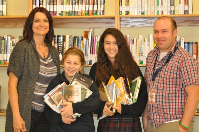 M.M.A. Gets Into the Books with Teen Read Week