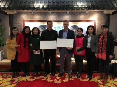 Board visits Chongqing #37 Secondary School in China