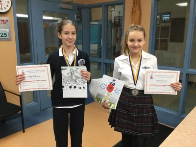 Marymount Academy students take silver in province-wide poster contest