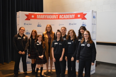 Entire Marymount Student Population Completes ICE Certification!