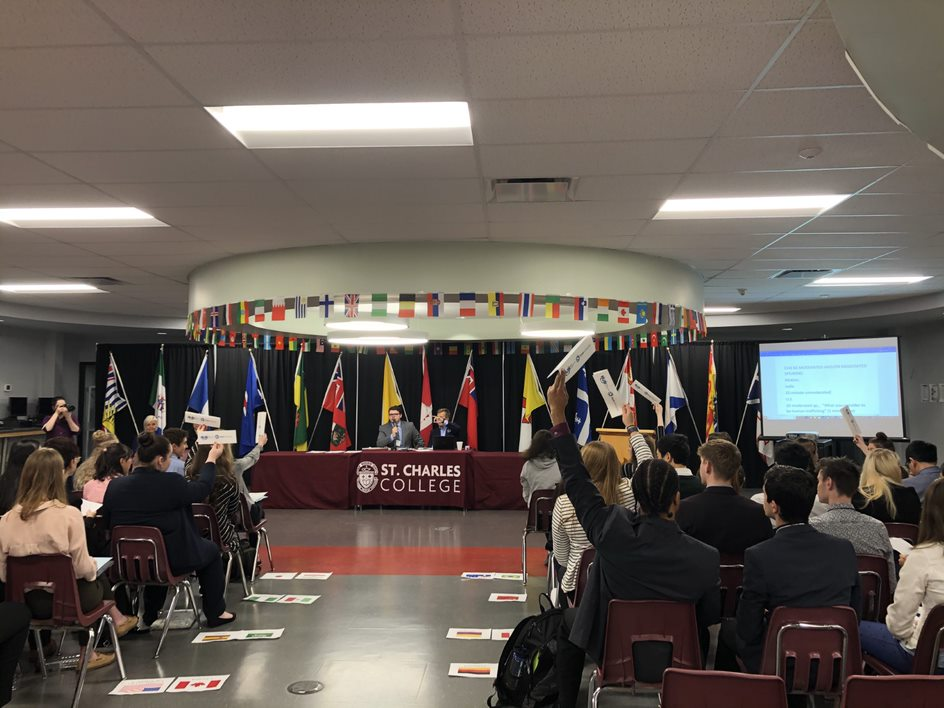 Students Participate in First Ever SCDSB Model UN Conference