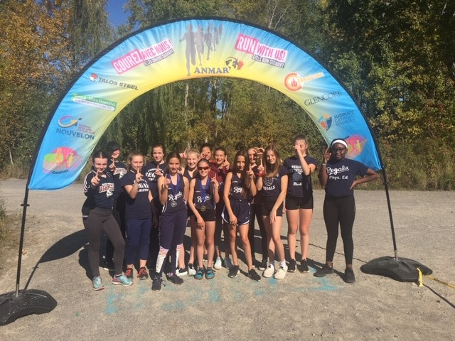 Regals Take Over the Podium at Cross Country Meet