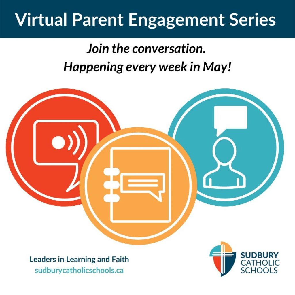 Calling all and educators: We are very pleased to invite you to our Virtual Parent Engagement Series!