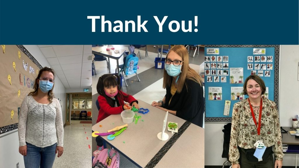 We are Thankful for our ECEs and EAs Today and Everyday!