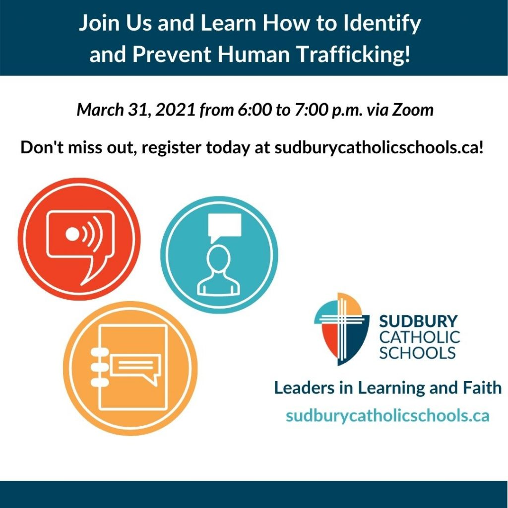 Join Us and Learn How to Identify and Prevent Human Trafficking!